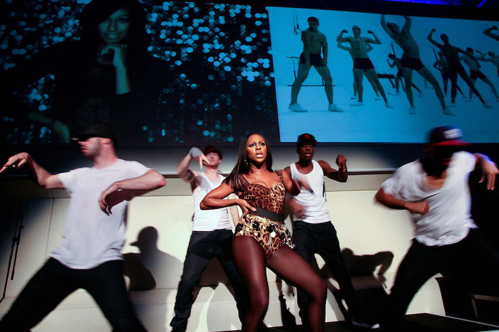 Sure Women ambassador, Alexandra Burke, performed at exclusive gig.
