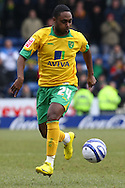 Oldham - Saturday February 26th, 2010 :  Anthony McNamee of Norwich in action during the Coca Cola League One match at Boundary Park, Oldham. (Pic by Paul Chesterton/Focus Images)..