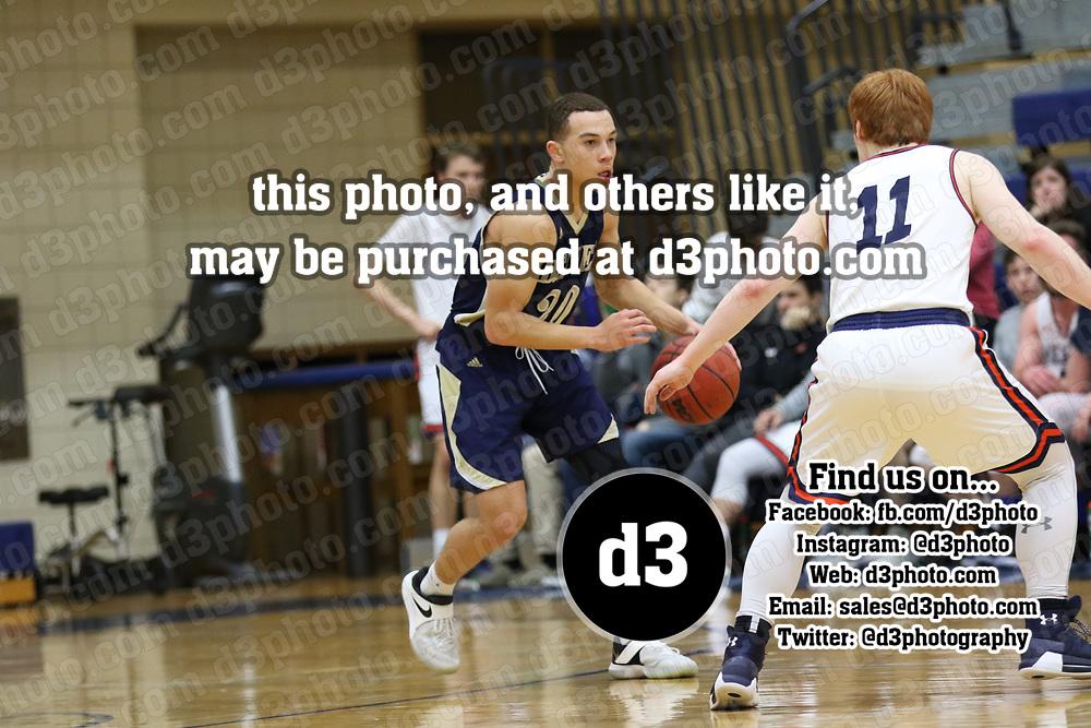Bethel @ Macalester Men's Basketball February 14, 2018. Jeff Lawler, d3photography.com