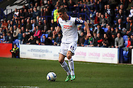 Tranmere Rovers' Jake Kirby on the ball. Skybet football league 1 match, Tranmere Rovers v Carlisle United at Prenton Park in Birkenhead, England on Saturday 29th March 2014. pic by Chris Stading, Andrew Orchard sports photography.
