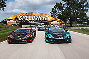 August 3-5 2018: Lamborghini Super Trofeo Road America. 67 Shea Holbrook, Martin Barkey, PPM, Lamborghini Beverly Hills Lamborghini Huracan Super Trofeo EVO, 46 Brandon Gdovic, Shinya Sean Michimi, PPM, Lamborghini Palm Beach Lamborghini Huracan Super Trofeo EVO, 47 Steve Dunn, PPM, Lamborghini Palm Beach, Lamborghini Huracan Super Trofeo EVO