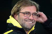 FUSSBALL   1. BUNDESLIGA   SAISON 2012/2013    18. SPIELTAG SV Werder Bremen - Borussia Dortmund                   19.01.2013 Trainer Juergen Klopp (Borussia Dortmund)