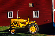 1946 International Harvester A-1 (Industrial) tractor restored by Dan Tombrink in Columbia Falls Montana