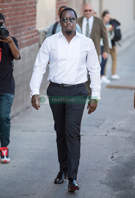 Sean 'Diddy' Combs is seen at 'Jimmy Kimmel Live' in Los Angeles, California. NON-EXCLUSIVE August 01, 2018. 01 Aug 2018 Pictured: Sean Combs. Photo credit: RB/Bauergriffin.com/MEGA TheMegaAgency.com +1 888 505 6342