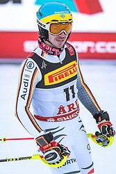 17.02.2019, Aare, SWE, FIS Weltmeisterschaften Ski Alpin, Slalom, Herren, 2. Lauf, im Bild Felix Neureuther (GER) // Felix Neureuther of Germany reacts after his 2nd run of men's Slalom of FIS Ski World Championships 2019. Aare, Sweden on 2019/02/17. EXPA Pictures © 2019, PhotoCredit: EXPA/ Dominik Angerer