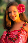 Polynesian Woman, Hawaii<br />