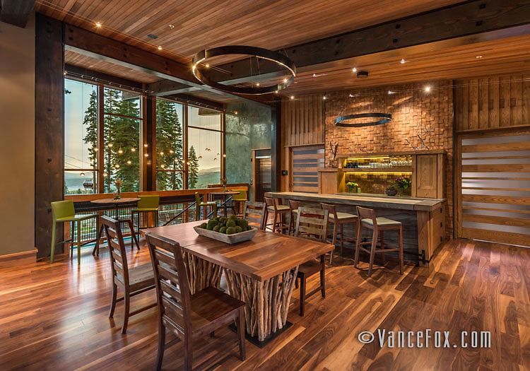 Treehouse Clubhouse, Northstar California, Truckee, Ca by Walton Architecture and Tahoe Mountain Resorts. Vance Fox Photography