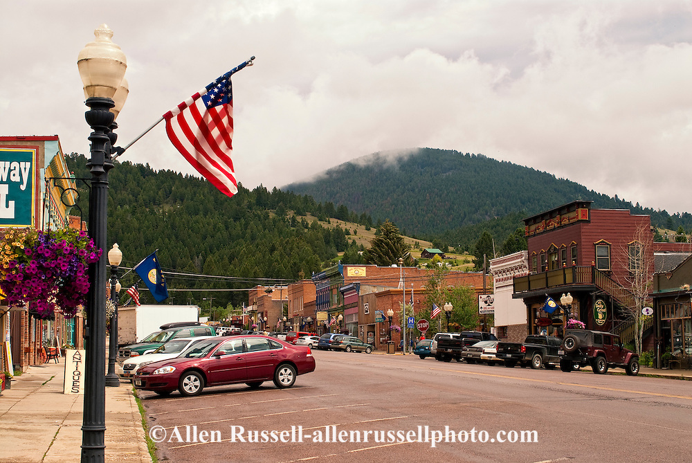Downtown Philipsburg Montana