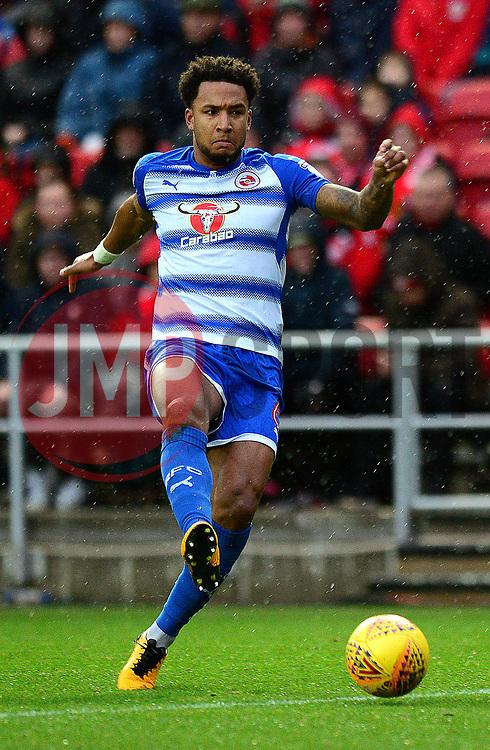 Liam Moore of Reading - Mandatory by-line: Dougie Allward/JMP - 26/12/2017 - FOOTBALL - Ashton Gate Stadium - Bristol, England - Bristol City v Reading - Sky Bet Championship