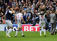 Millwall fans invade the pitch after the Sky Bet League 1 play-off final at Wembley Stadium, London<br /> Picture by Glenn Sparkes/Focus Images Ltd 07939664067<br /> 20/05/2017