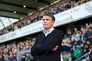 Manager Phil Parkinson of Bradford City during the Sky Bet League 1 Playoff Semi-final Leg Two at The Den, London<br /> Picture by Alan Stanford/Focus Images Ltd +44 7915 056117<br /> 20/05/2016