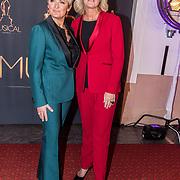 NLD/Scheveningen/20180124 - Musical Award Gala 2018, Caroline Tensen en Irene Moors