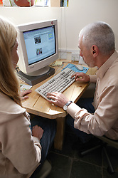 Support Workers training Service User on the Internet,