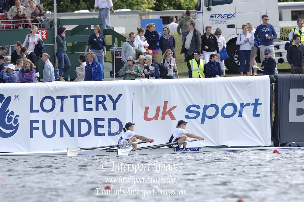 2005 FISA World Cup, Dorney Lake, Eton, ENGLAND, 28.05.05. Signs.Photo  Peter Spurrier. .email images@intersport-images..[Mandatory Credit Peter Spurrier/ Intersport Images] , Rowing Courses, Dorney Lake, Eton. ENGLAND