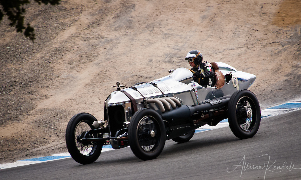 1917 Hall-Scott 'The Four-A-7A' driven by Dick Deluna at the 2013 Rolex Monterey Motorsports Reunion