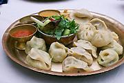 Vienna, Austria. Momo Day (traditional dumplings) at Yak und Yeti Nepali restaurant.