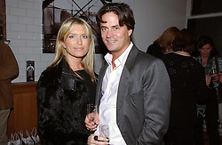 Actress TINA HOBLEY and OLIVER WHEELER at the opening party for Tom's Kitchen - the restaurant of Tom Aikens at 27 Cale Street, London SW3 on 1st November 2006.<br /><br />NON EXCLUSIVE - WORLD RIGHTS