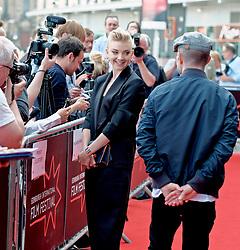 Edinburgh International Film Festival, Tuesday, 26th June 2018<br /> <br /> IN DARKNESS (EUROPEAN PREMIERE)<br /> <br /> Pictured: Director Anthony Byrne and Natalie Dormer <br /> <br /> (c) Alex Todd   Edinburgh Elite media