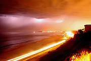 Storm over San Clemente