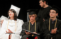 Prospect Mountain High School commencement ceremony June 17, 2011.