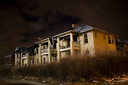Much of Detroit is rundown and dilapidated.  The city now has less than one million residents and much of the area is abandoned.