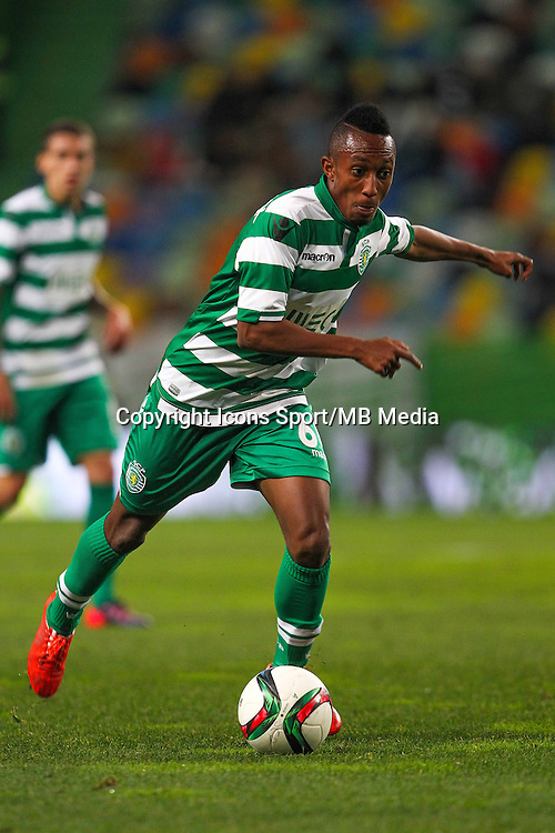 Gleson Silva - 28.01.2015 - Sporting / Vitoria Setubal -Coupe de la ligue- Portugal-<br /> Photo : Carlos Rodrigues /  Icon Sport