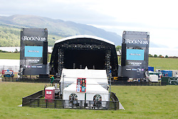 Rockness main stage before the fans enter..Rockness, Friday 11th June..Pic ©2010 Michael Schofield. All Rights Reserved.