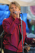 David Bowie performed on the Today Show live in Rockefeller Center in New York City on June 14, 2002.<br /> photo by Jen Lombardo/ImageDirect
