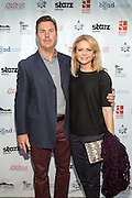 Campion Murphy and Faith Ford on the red carpet during opening night of the 25th Anniversary New Orleans Film Festival; Opening night film is 'Black and White' directed by Mike Binder