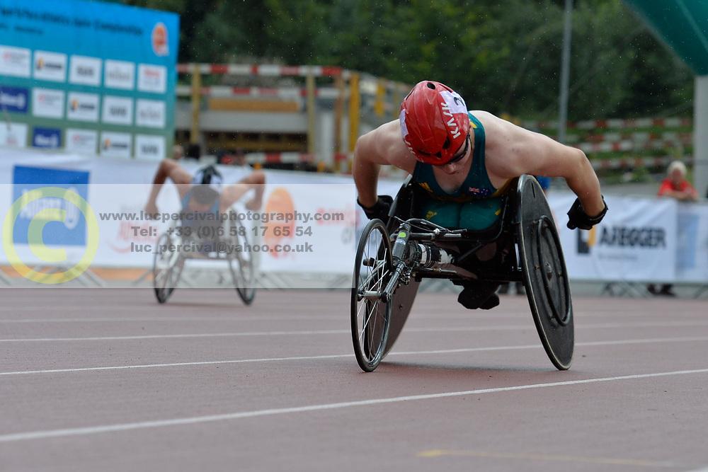 05/08/2017; Rizzo, Samuel, T54, AUS at 2017 World Para Athletics Junior Championships, Nottwil, Switzerland