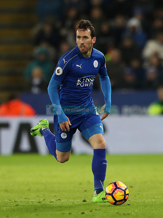 Leicester City's Christian Fuchs