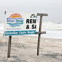 Seaside Heights beach damage from Hurricane Ida