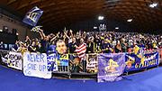 DESCRIZIONE : Final Six Coppa Italia A2 IG Cup RNB Rimini 2015 Finale FMC Ferentino - Tezenis Scaligera Verona<br /> GIOCATORE : Tifosi Verona<br /> CATEGORIA : Ultras Tifosi Spettatori Pubblico<br /> SQUADRA : Tezenis Scaligera Verona<br /> EVENTO : Final Six Coppa Italia A2 IG Cup RNB Rimini 2015<br /> GARA : FMC Ferentino - Tezenis Scaligera Verona<br /> DATA : 08/03/2015<br /> SPORT : Pallacanestro <br /> AUTORE : Agenzia Ciamillo-Castoria/L.Canu