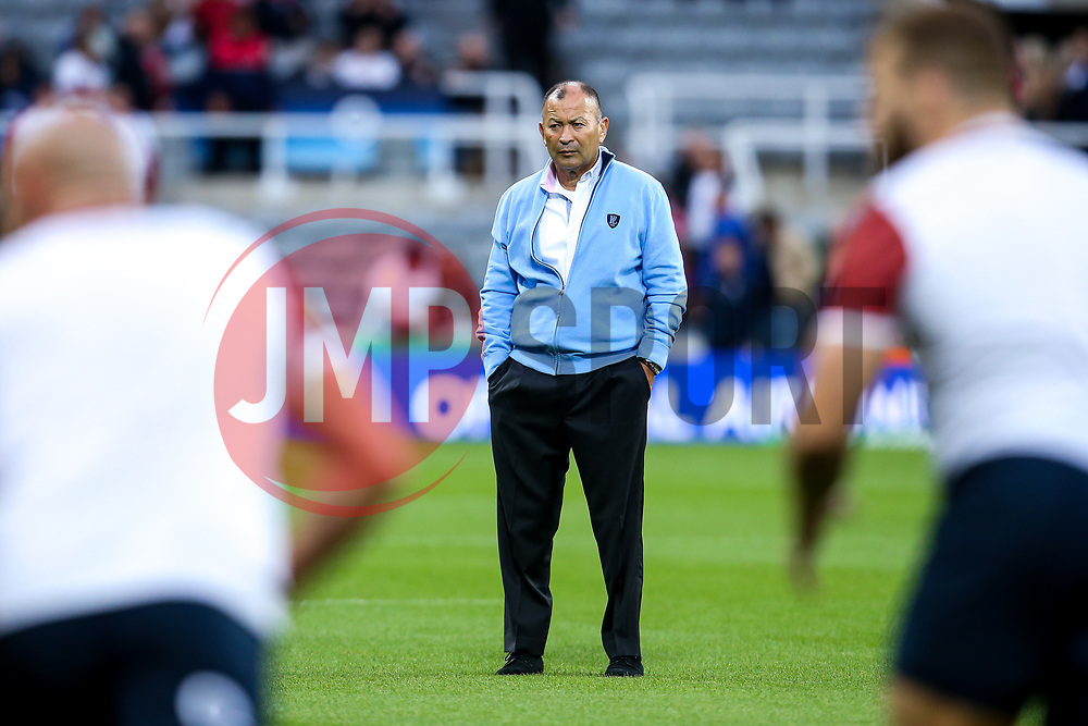 England Head Coach Eddie Jones - Mandatory by-line: Robbie Stephenson/JMP - 06/09/2019 - RUGBY - St James's Park - Newcastle, England - England v Italy - Quilter Internationals