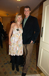 JACK KIDD and his wife BE at the Holders Season Barbados Comes to London night at the Landmark Hotel, Marylebone Rd, London on 1st February 2007.<br /><br />NON EXCLUSIVE - WORLD RIGHTS