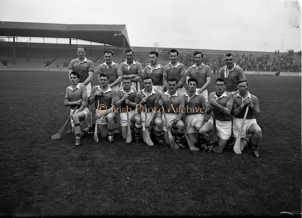 05/11/1961<br /> 11/05/1961<br /> 5 November 1961<br /> Oireachtas Final: Tipperary v Wexford at Croke Park, Dublin.<br /> Tipperary team.