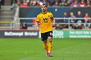 Jonny Otto (19) of Wolverhampton Wanderers during the The FA Cup 5th round match between Bristol City and Wolverhampton Wanderers at Ashton Gate, Bristol, England on 17 February 2019.