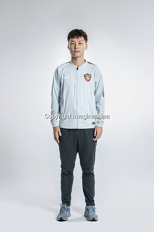 **EXCLUSIVE**Portrait of Chinese soccer player Mi Haolun of Tianjin Quanjian F.C. for the 2018 Chinese Football Association Super League, in Yancheng city, east China's Jiangsu province, 9 February 2018.