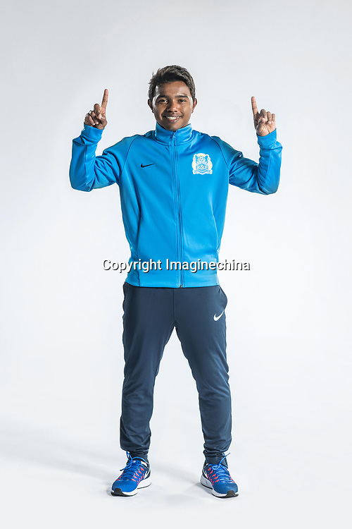 **EXCLUSIVE**Portrait of Brazilian soccer player Renatinho of Guangzhou R&F F.C. for the 2018 Chinese Football Association Super League, in Guangzhou city, south China's Guangdong province, 23 February 2018.