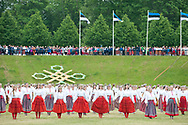 12th Youth Song and Dance Celebration, Tallinn, Estonia. Dance Celebration, evening performance in Kalev stadium (1 July 2017)  © Rudolf Abraham