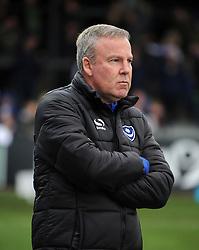 Portsmouth manager Kenny Jackett - Mandatory by-line: Neil Brookman/JMP - 01/01/2018 - FOOTBALL - Memorial Stadium - Bristol, England - Bristol Rovers v Portsmouth - Sky Bet League One