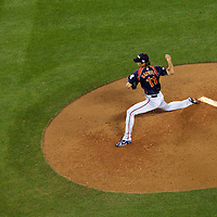 23 March 2009: #11 Yu Darvish of Japan pitches against Korea  during the 2009 World Baseball Classic final game at Dodger Stadium in Los Angeles, California, USA. Japan defeated Korea 5-3