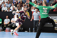 Valero Rivera / Thierry Omeyer - 26.04.2015 - Handball - Nantes / Paris Saint Germain - Finale Coupe de France<br /> Photo : Andre Ferreira / Icon Sport