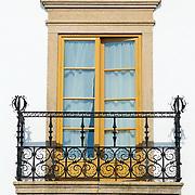Tradicional window and Balcony at Alentejo house