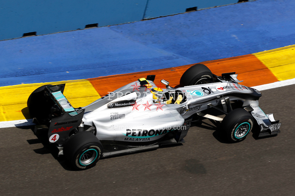 Motorsports / Formula 1: World Championship 2010, GP of Europe, 04 Nico Rosberg (GER, Mercedes GP Petronas),