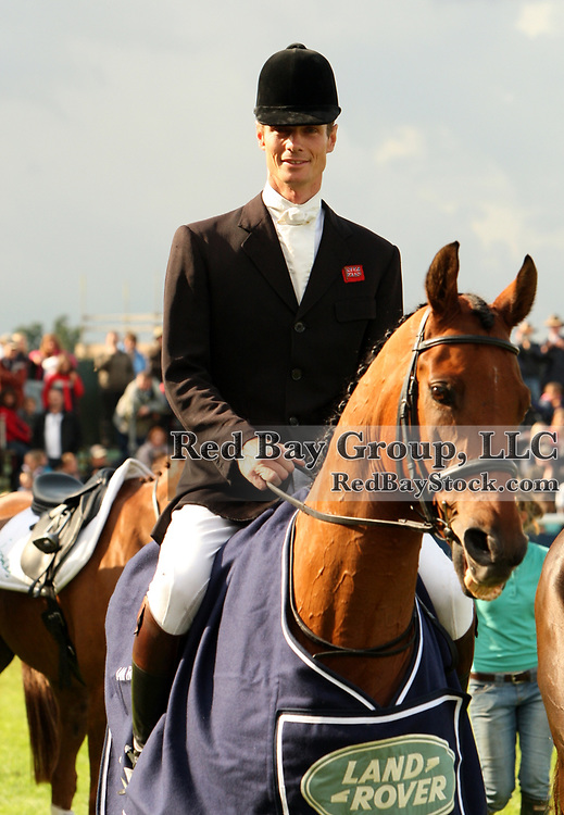 William Fox-Pitt and Tamarillo at the 2008 Land Rover Burghley Horse Trials held in Stamford, England