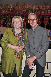 JUDITH MILLER and MARK HILL at a preview evening of the annual London LAPADA (The Association of Art & Antiques Dealers) antiques Fair held in Berkeley Square, London on 20th September 2011.