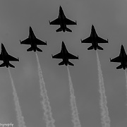 USAF Thunderbirds Void Of Color