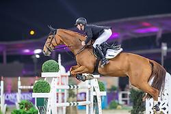 EHNING Marcus (GER), Funky Fred<br /> Doha - CHI Al SHAQAB 2020<br /> Int. jumping competition with jump-off (1.55/1.60 m) - CSI5* <br /> 28. Februar 2020<br /> © www.sportfotos-lafrentz.de/Stefan Lafrentz