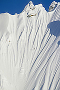 Alaska. Southeast. Chilkat Range. Jeremy Jones snowboarding. Helicopter skiing.